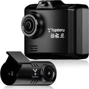 ユピテル 前後2カメラ ドライブレコーダー シガープラグモデル WDT510c 前方200万画素 後方100万画素 LED信号対応専用microSD(16GB)付