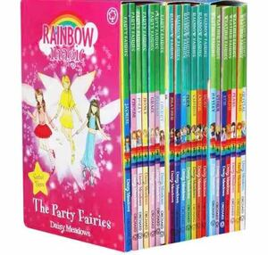英語本 Rainbow Magic 21冊+音源データ