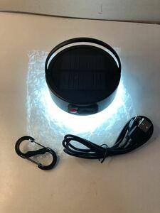LEDランタン ソーラーランタン usb充電可 小型 防水仕様 吊り下げフック付き PSE認証