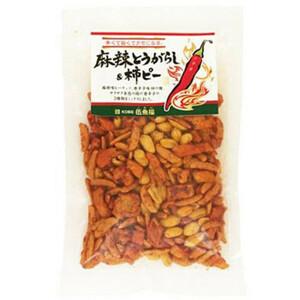 伍魚福 おつまみ 麻辣とうがらし&柿ピー 145g×10入り 338310(a-1676570)