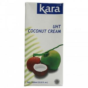 カラ ココナッツクリーム UHT 1000ml 12個セット 480(a-1677106)