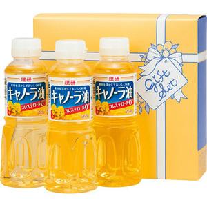 理研キャノーラ油セット B6044577(l-4518544105335)