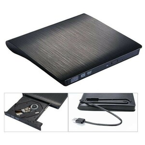 【最安】Usb 3.0/タイプcスリム外部dvd rw cdライタードライブバーナーリーダープレーヤー光学ドライブノートpc用pc