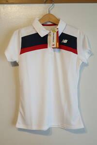 新品未使用 ニューバランス 半袖 ポロシャツ レディース ゴルフ テニス サイズS NEW BALANCE