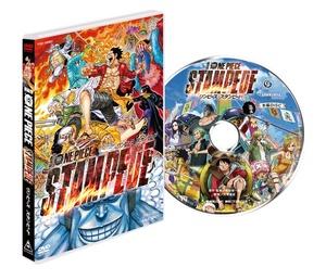 匿名配送 DVD 劇場版 ONE PIECE STAMPEDE スタンダード エディション 通常版 ワンピース 4988101207657