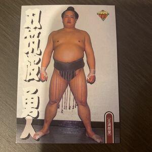 99BBM 106 双筑波 勇人 大相撲カード