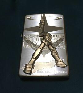 ZIPPO 機動戦士ガンダム ラストシューティング ガンダム GUNDAM シリアル番号入り ジッポー 現状品