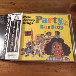 国内盤帯付き★ニュー・ジャージー・キングス/パーティー・トゥ・ザ・バス・ストップ★acid jazz名盤