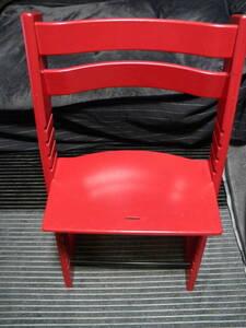 ★ Подскажитенное решение ★ на складе STOKKE ★ TRAIN TRAP TRIPP TRAPP ★ Детский стул (стул) ★ красный