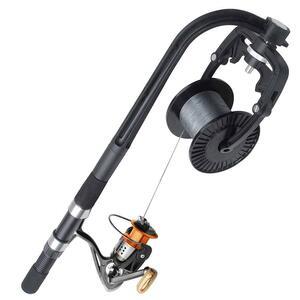 YU161 釣りライン巻 リール 糸巻き機 釣りリール ライン巻き取り機 携帯型 一人でも楽々 リールライン巻き 糸ヨレ軽減 ラインスプーラー
