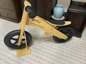 木製 キックバイク air bike バランスバイク ウッドバイク (ストライダー)