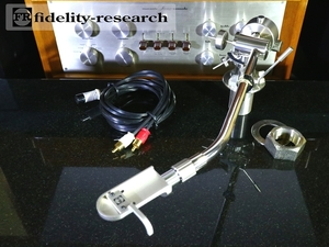 fidelity-research FR-14 トーンアーム 純正シェル/ケーブル付属 リフターオイル補充済み Audio Station
