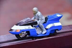 レトロ 当時物 1987年 日本製 超人機メタルダー サイドファントム 超合金 ポピニカ ポピー