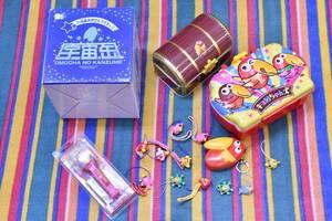 おもちゃのカンヅメ チョコボール キョロちゃん 宇宙缶 冒険缶 キョロちゃんズ PEZ ペッツ 着ぐるみ ストラップ まとめて