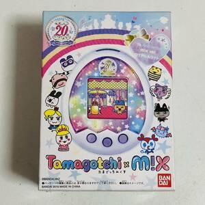 【動作品】たまごっちみくす Tamagotchi m!x 20th Anniversary ロイヤルホワイト BANDAI 希少 レア