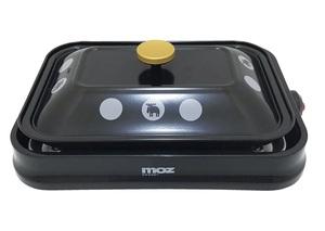 ◇モズ3WAYホットプレート(たこ焼きプレート・平面プレート・焼き肉プレート)ミニブラック新品