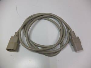 送料無料 3ピン 電源ケーブル サービスコンセント用 1.9m 3極