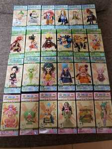 ワンピース WCF ワノ国4 ワノ国5 ワノ国6 ワノ国7 全24種 フルコンプ ワールドコレクタブルフィギュア
