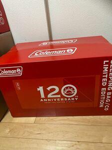コールマン 120周年 スリーピングバッグ