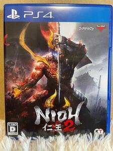 仁王2 NIOH PS4 中古 美品 日本版