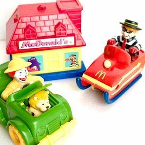 【McDonald/マクドナルド 】1990年代/ミールトイ/ハッピーセット/ファーストフードトイ/ドナルド/ハンバーグラー/グリマス/フライガイ