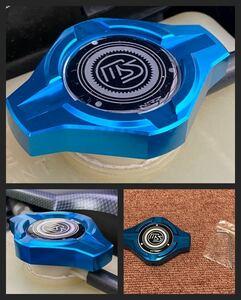 マツダ車ラジエターキャップカバー 青 新品未使用RX-7 RX-8アクセラ ユーノスコスモベリーサ FD3S SE3P