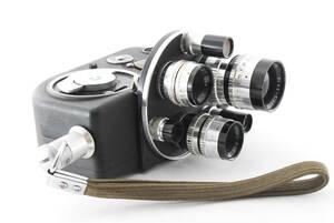 レンズ6本付【動作確認済 露出計OK】 ARCO アルコ CR-8 8mm ビデオカメラ CINE-T ARCO 38mm他 同梱可能 #5382
