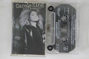 米Cassette Carole King City Streets C490885 CAPITOL /00110の商品画像