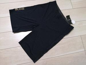 ◆新品 SKINS スキンズ サイド迷彩カモフラ柄 スキンフィット ハーフパンツ メンズ O LL XL ネイビー 定価5,390円 短パン ジム 紺