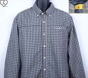 《郵送無料》■Ijinko美品◆エディーバウアー Eddie Bauer M サイズ長袖シャツ