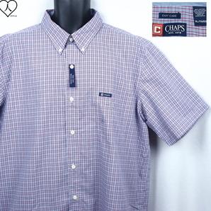 《郵送無料》■Ijinko◆新品◆CHAPS/チャップス Easy care XL サイズ半袖シャツ