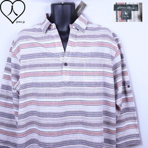 《郵送無料》■Ijinko◆新品☆エディーバウアー Eddie Bauer XL サイズミッドスリーブシャツ