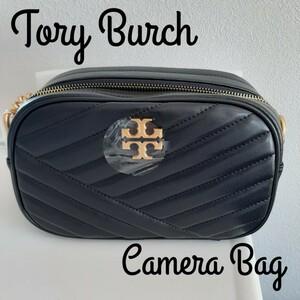 Tory Burchトリーバーチ 新品未使用 タグ付きキラシェブロンカメラバッグ ショルダーバッグ