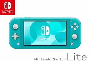 【未使用】 ニンテンドー Nintendo 【未使用・未開封】 Nintendo Switch Lite HDH-S-BAZAA ターコイズ