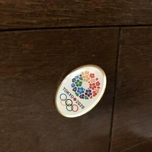 東京 TOKYO 2020 オリンピックピンバッジ ピンバッヂ 東京オリンピック 五輪 5輪 2020年 バッジ バッヂ ピン 非売品 レア 貴重 記念品 記念