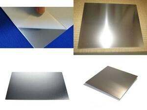 アルミ板1x100x300 (厚x幅x長さmm)(片面保護シート付) 同サイズ複数枚あり 出品者情報必読