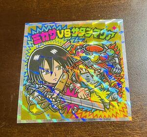 進撃の巨人マンコレクターシール 絶望の炎編 No.22 ミカサvsサタンマリア