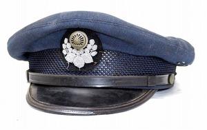 昭和レトロ 国鉄 一般制帽 帽子 中古品 日本国有鉄道鉄道グッズ