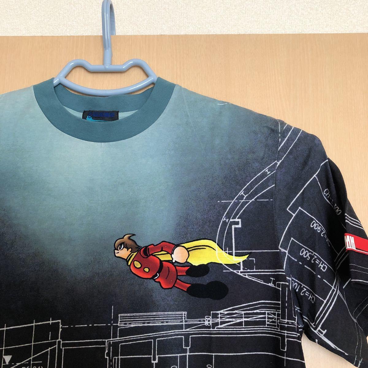 サイボーグ009 石ノ森章太郎 半袖Tシャツ 石ノ森萬画館 Lサイズ 未使用 日本製 レアだと思います お値下げしました