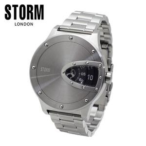 STORM LONDON(ストームロンドン) 時計 腕時計 MAGNITOR 47390BK シルバー/ブラック メンズ 国内正規品