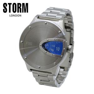 STORM LONDON(ストームロンドン) 時計 腕時計 MAGNITOR 47390B シルバー/ブルー メンズ 国内正規品