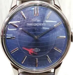 TRANS CONTINENTS トランスコンチネンス 5537-L15219 12**** クォーツ 腕時計