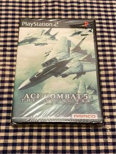 PS2用ゲームソフト エースコンバット5 ジ・アンサング・ウォー