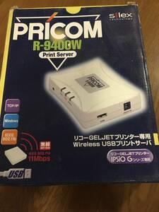 1円スタート!silex ジェルジェットプリンター PRICOM R-9400W 美品!