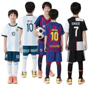 サッカーユニフォーム セットアップ 子供用 キッズ ゲームシャツ 上下2点セット 速乾 半袖Tシャツ ショートパンツ スポーツ