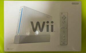 【激レア最初期版2006年製造品】新品未使用品 Wii 本体 (シロ) 任天堂 ニンテンドー Nintendo 初期型 発売当時物