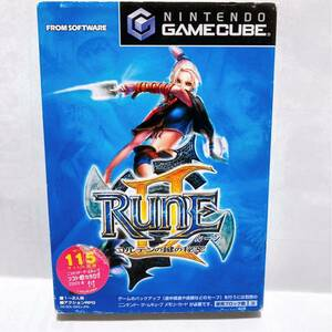 ゲームキューブ ルーンⅡ コンテンの鍵の秘密 【GC RUNEⅡ ルーン2】