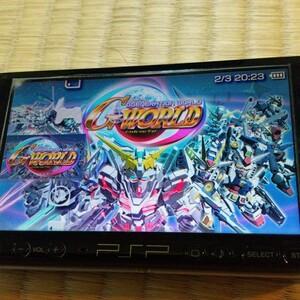 PSP SDガンダム ジージェネレーション ワールド PSP the Best