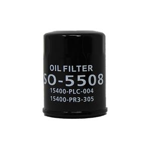 オイルフィルタ ホンダ CR-Xデルソル 型式EG1用 SO-5508 オイルエレメント 15400-RTA-003/15400-PR3-003相当