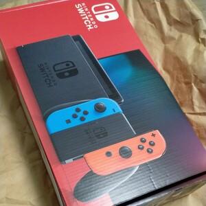 Nintendo Switch ネオンブルー/レッド本体 新品 未使用